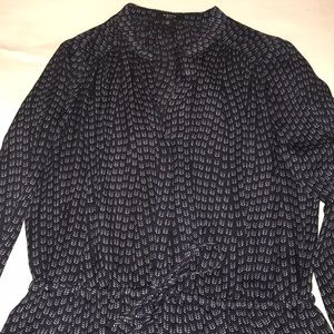 Babaton Dresses - Aritzia Babaton silk button front dress